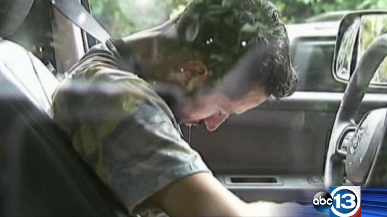 Atlanta driver asleep at the wheel
