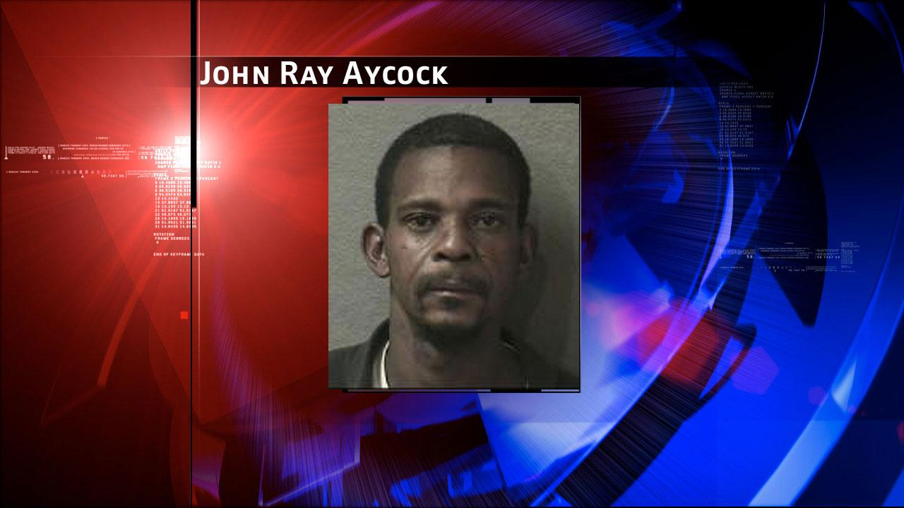 John Ray Aycock is charged with capital murder