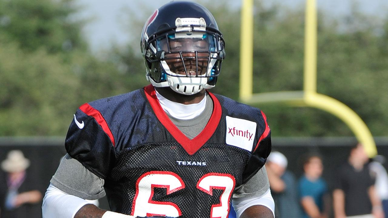 Texans waive three players