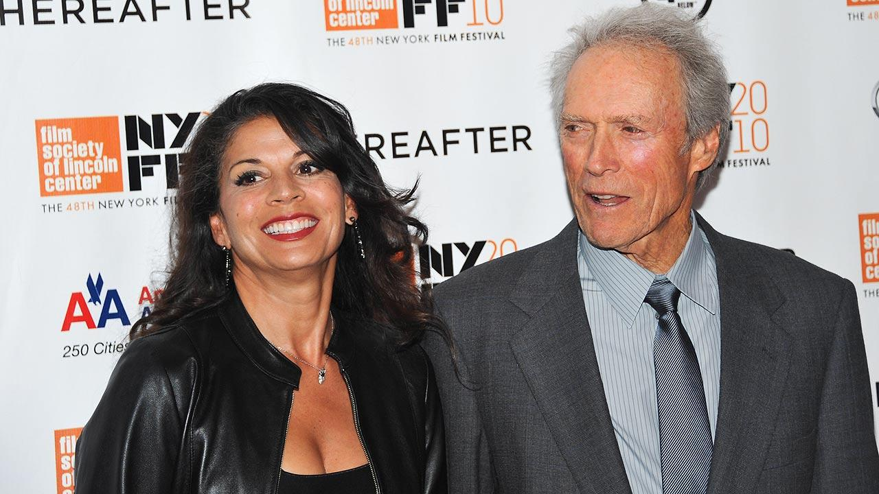 Director / producer Clint Eastwood and wife Dina Eastwood