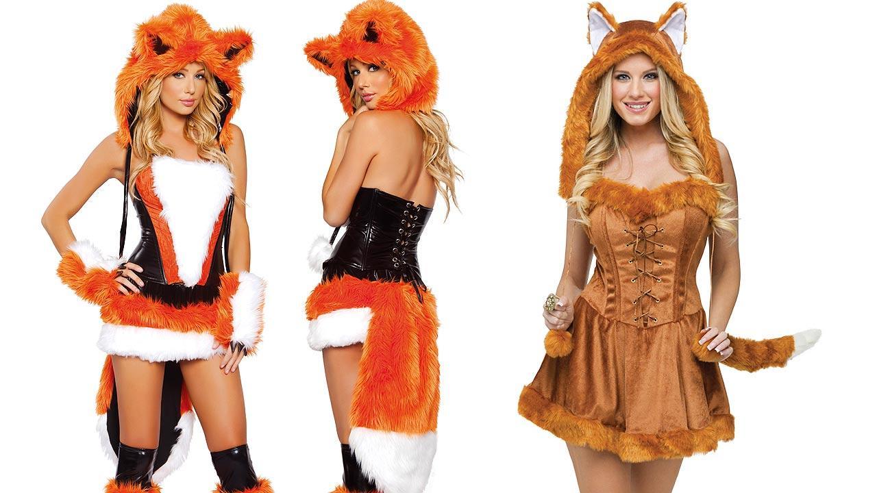 Fox costumes for Halloween