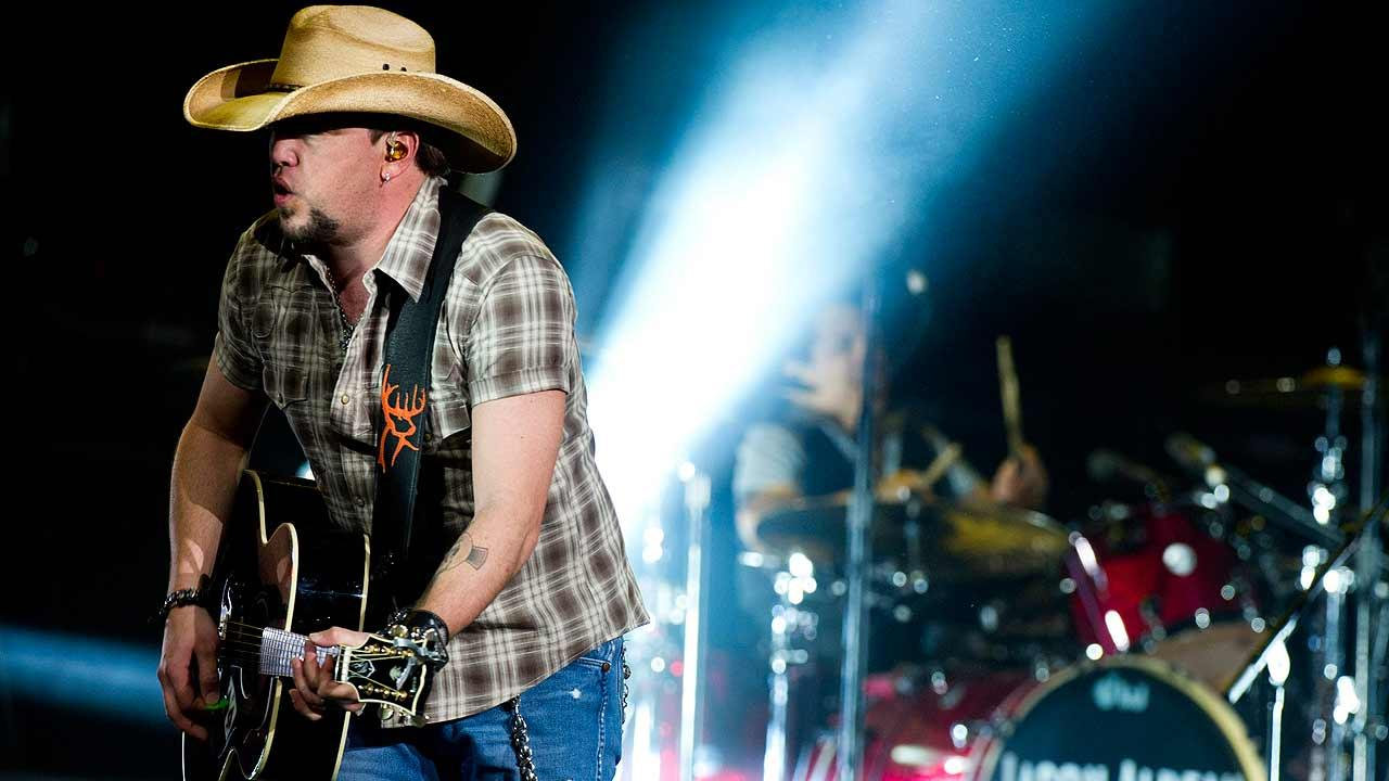 Jason Aldean performs in concert at Madison Square Garden
