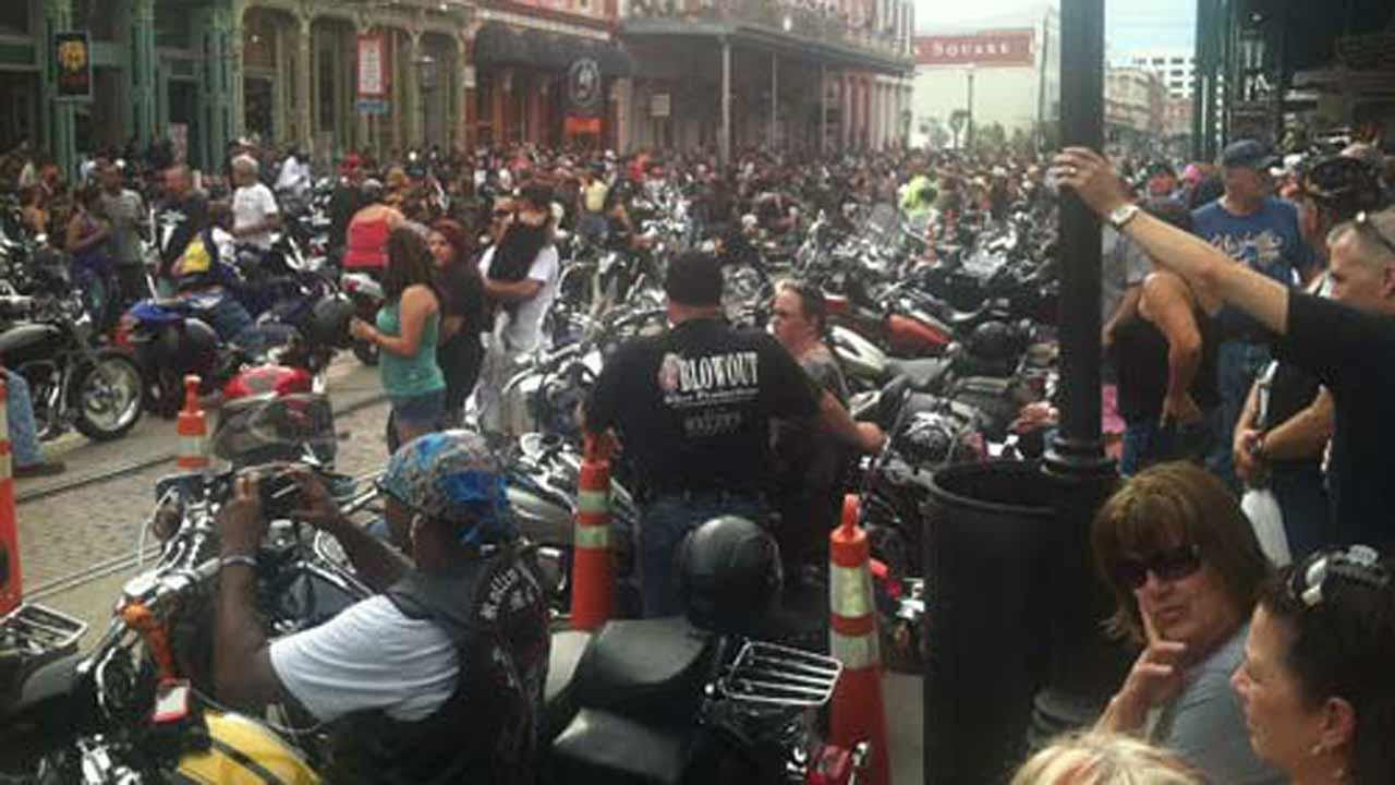 This photos was sent in by one of our viewers of the Lone Star Rally held last year in Galveston. (KTRK Photo/ iWitness Reports)