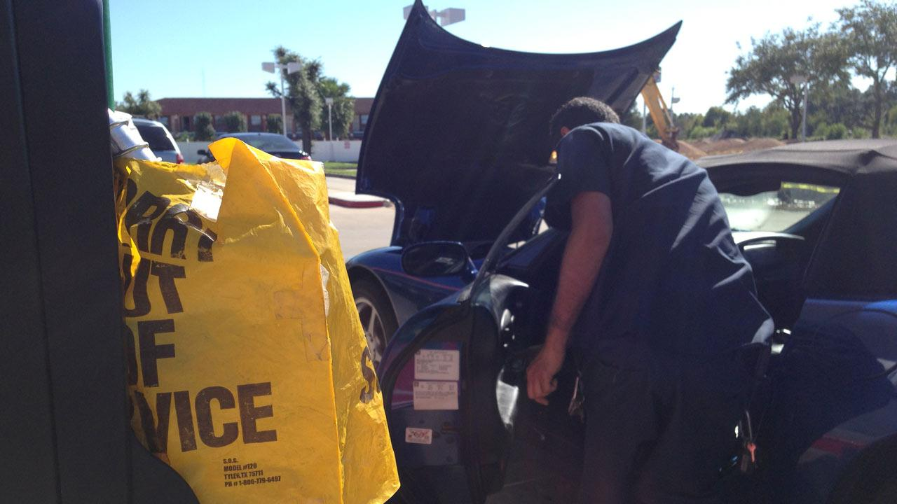 Bad gas from gas station damages several cars