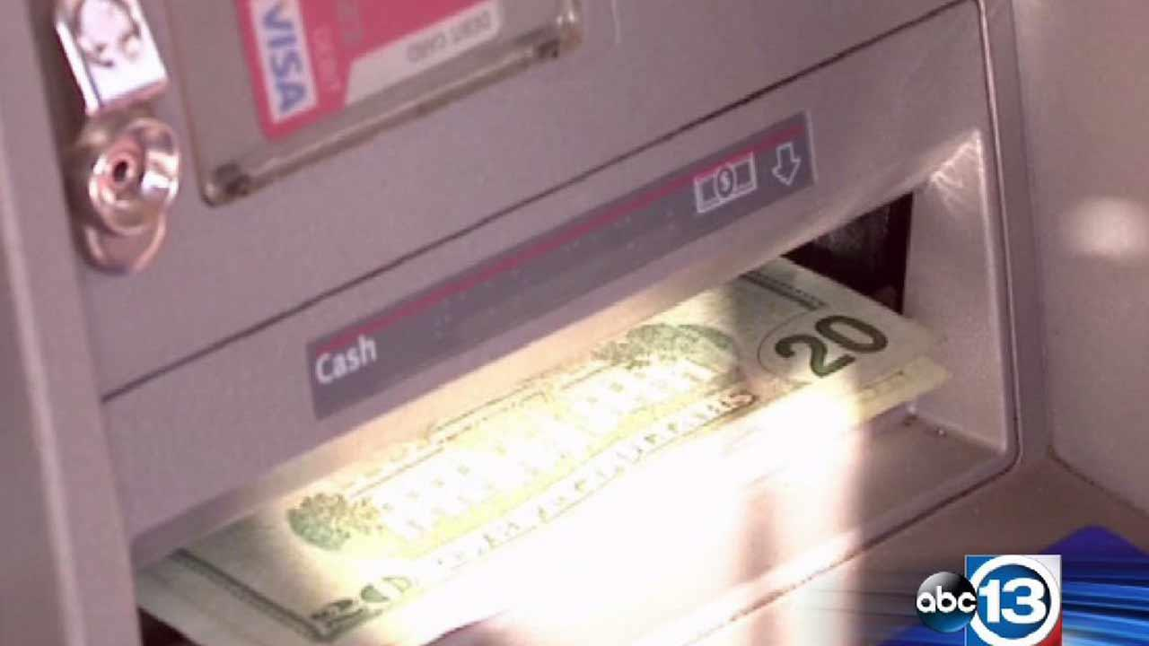 Bank customers were given some extra cash at a Fresno, California ATM that was apparently loaded incorrectly.