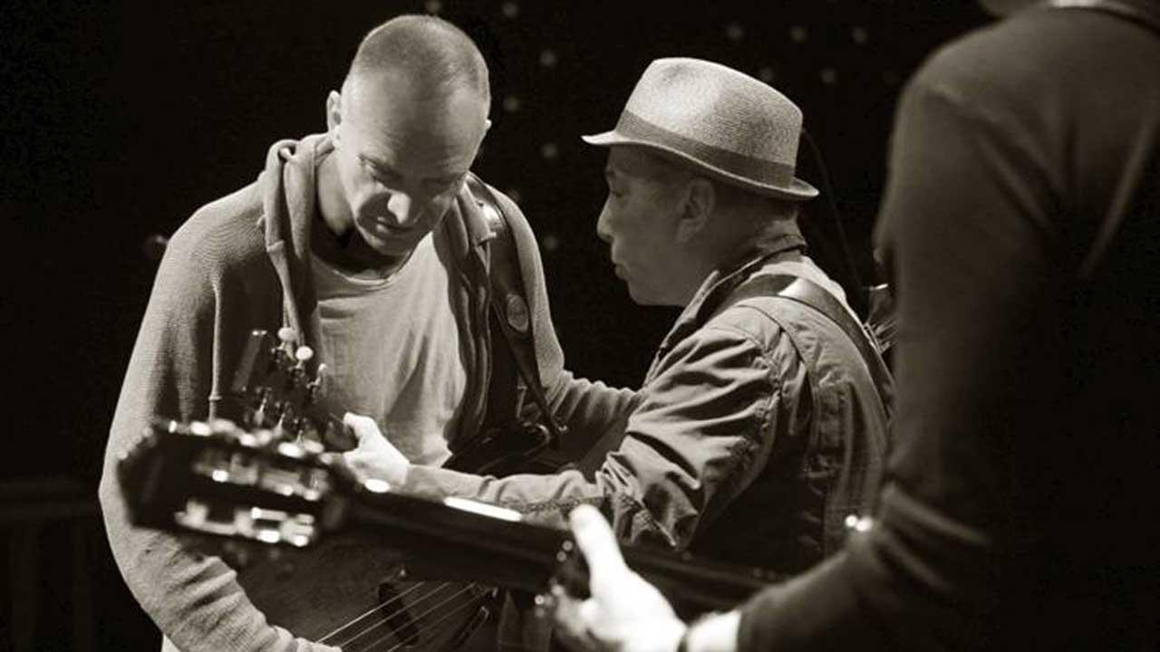 Paul Simon and Sting are pictured in a promotional photo provided by Live Nation to announce their joint tour of North America