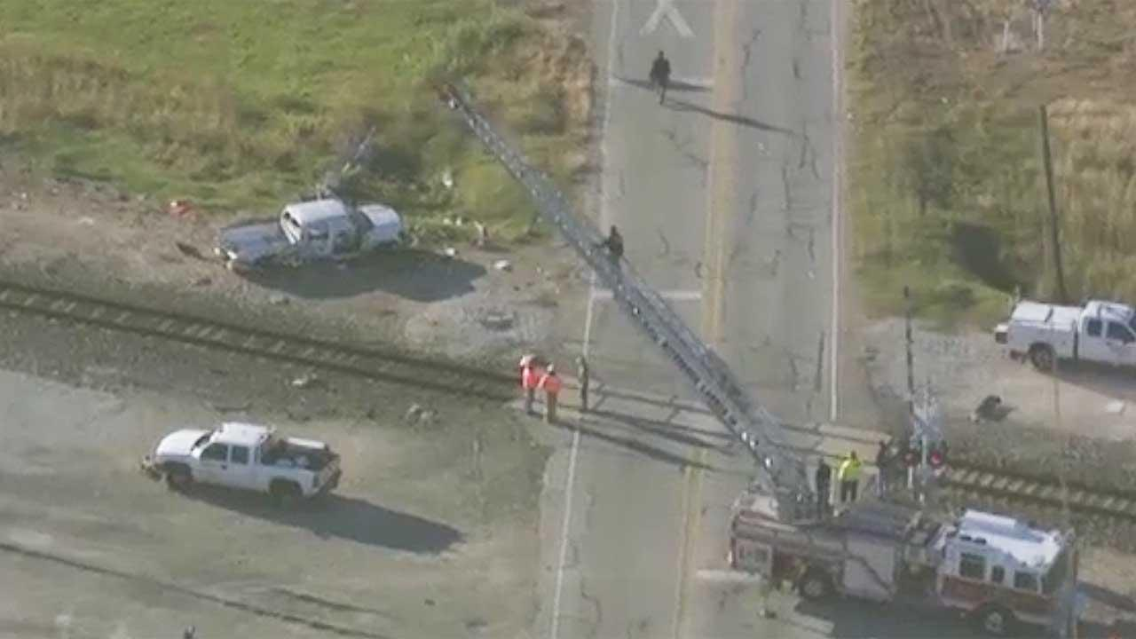 Santa fe train wreck