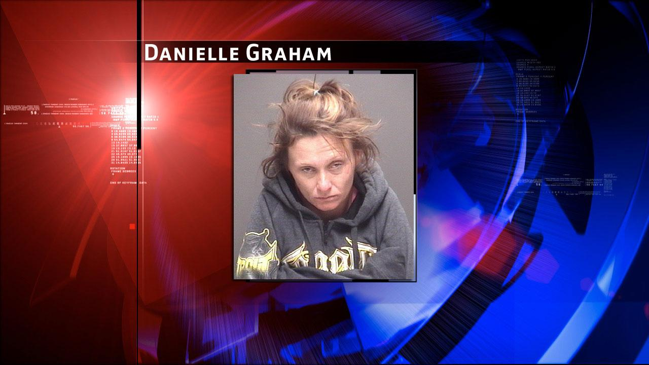 Danielle Graham, 32, was charged with manufacturing/delivery of a controlled substance.