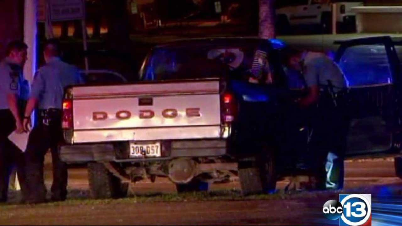 Police investigate after a high-speed chase ends on the 610 Loop near Wayside