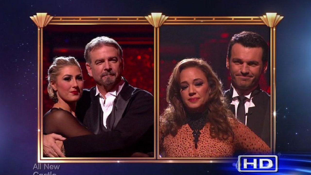 Bill Engvall and Leah Remini