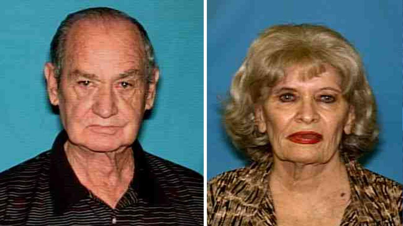 Jerry Stanley Fagan, 75, and 81-year-old Laverne Rouse Fagan