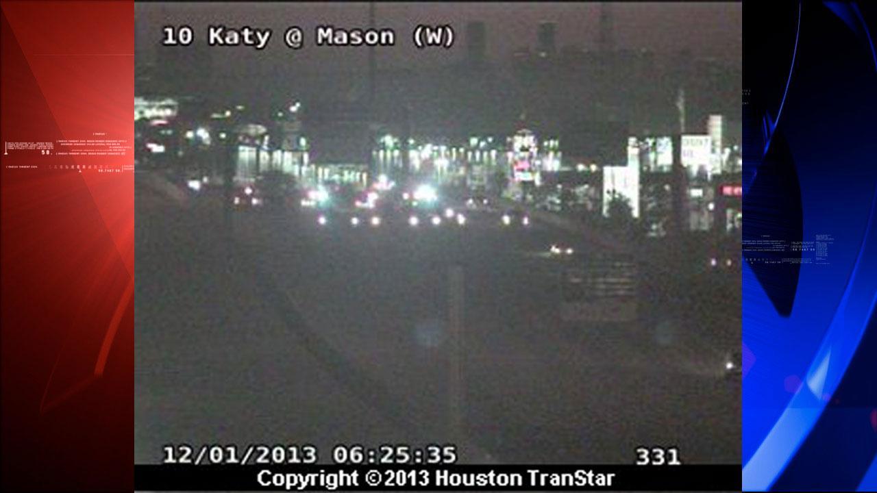 Houston Transtar: Crash on Katy Freeway