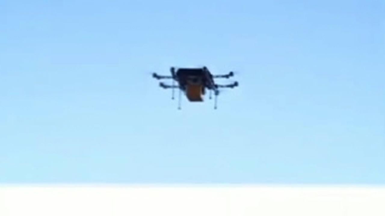 The drones callled octocopters would replace postmen and delivery services