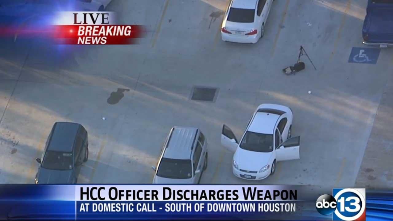 HCC officer opens fire