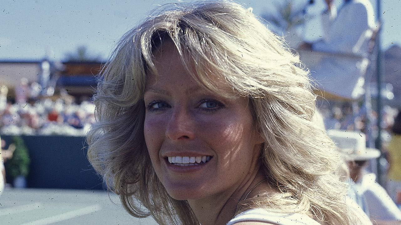 Actress Farrah Fawcett-Majors is seen in 1977. (AP Photo)