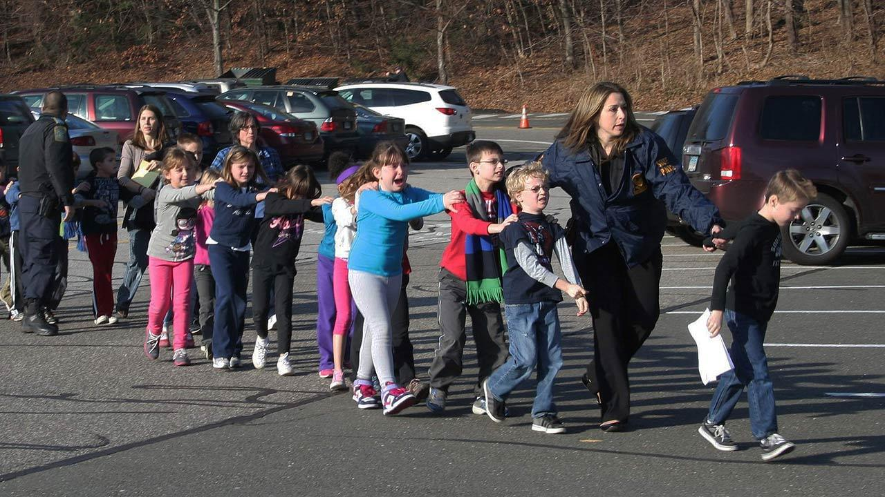 Sandy Hook Elementary students
