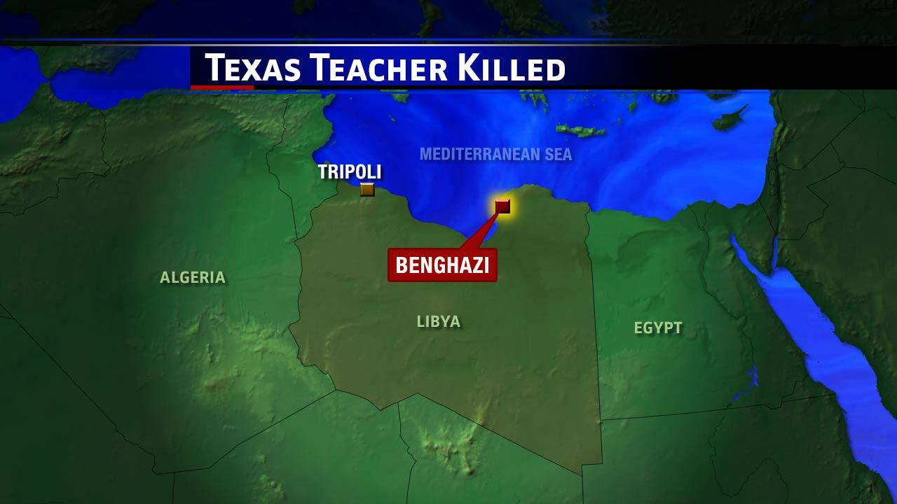 Libyan officials: Texas teacher shot, killed in Benghazi