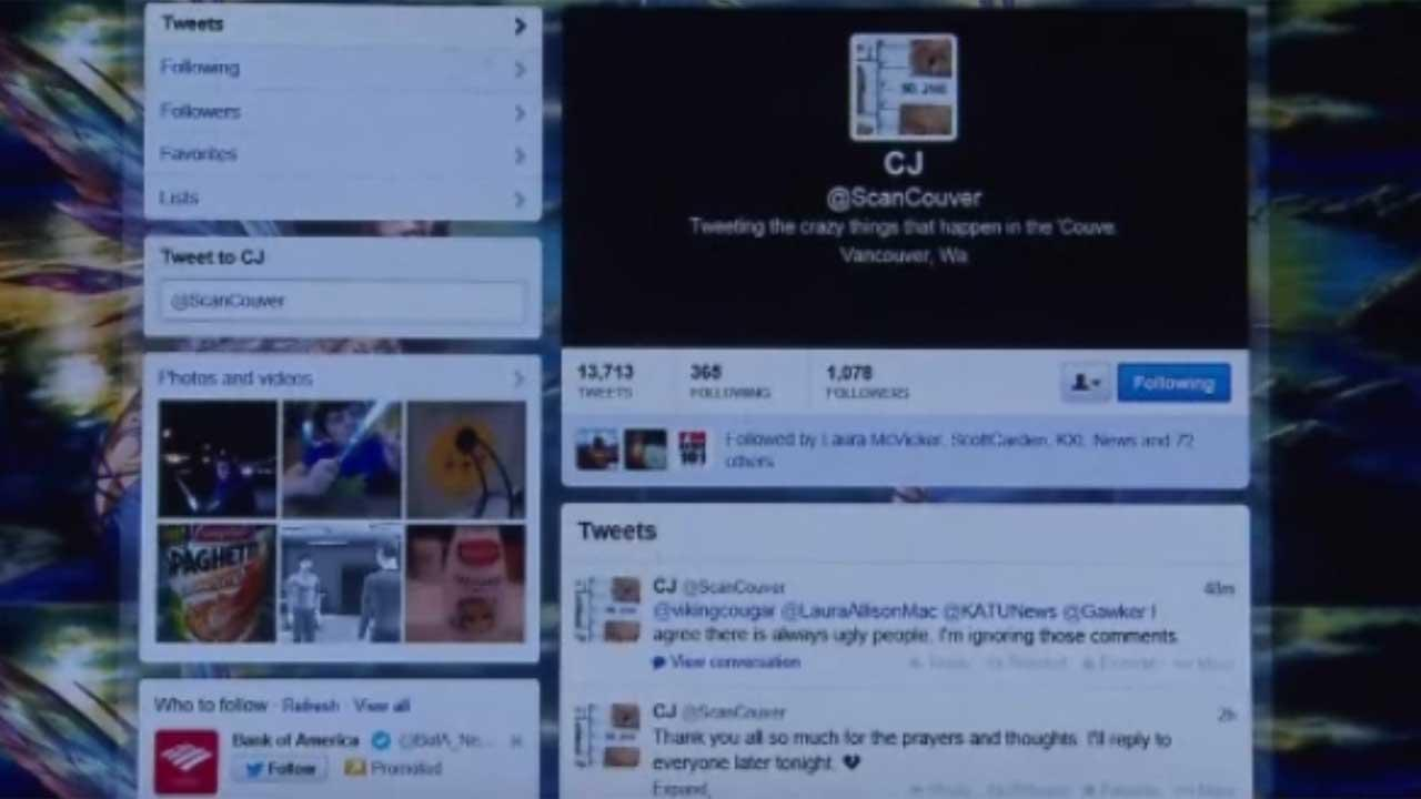 Woman unknowingly tweeted about death of husband