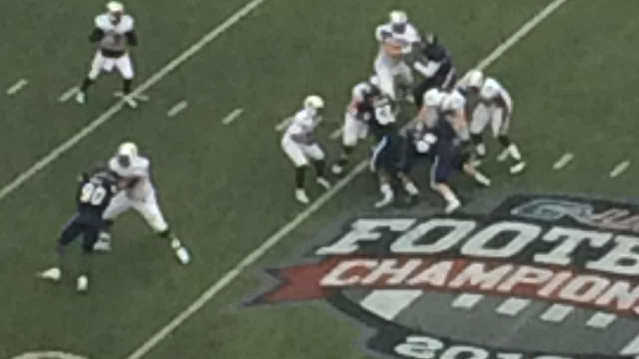 Rice vs. Marshall in the 2013 Conference USA Championship game