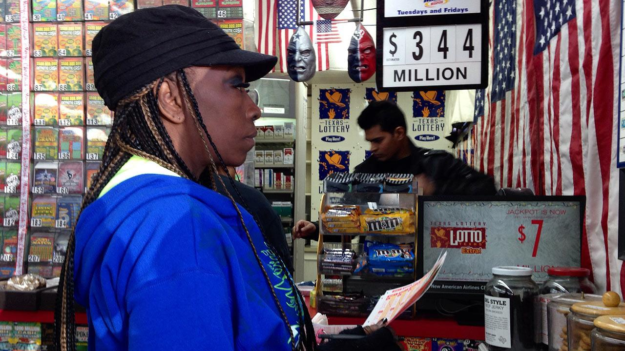 Lottery players were hoping to win the $344 million Mega Millions jackpot