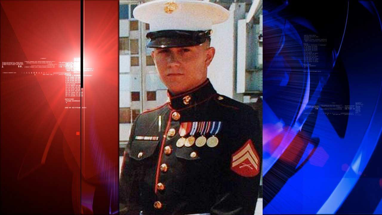 U.S. Marine Brian LaLoup