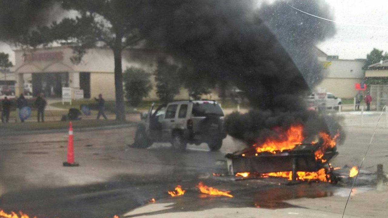 Tomball chevron gas station fire