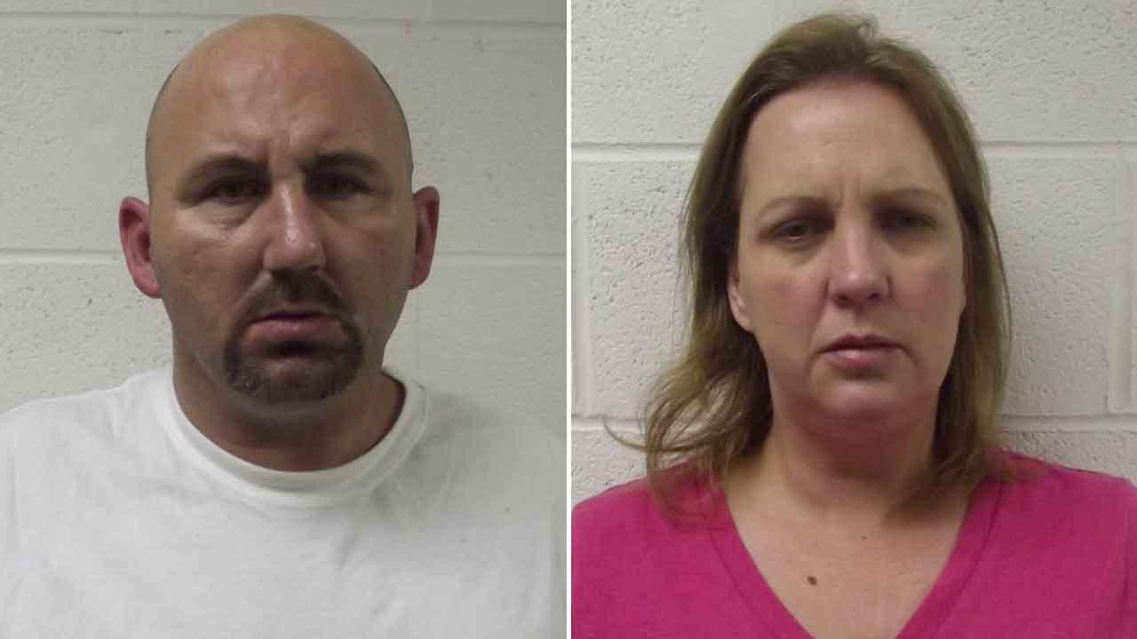Brian Anthony Cheek, 39, and Veronica Lynn Springer, 38, of Santa Fe