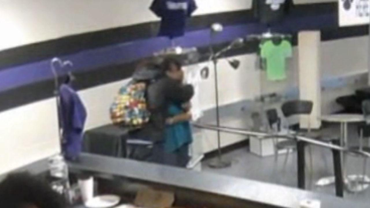 Georgia high school student gets year-long suspension for hugging teacher