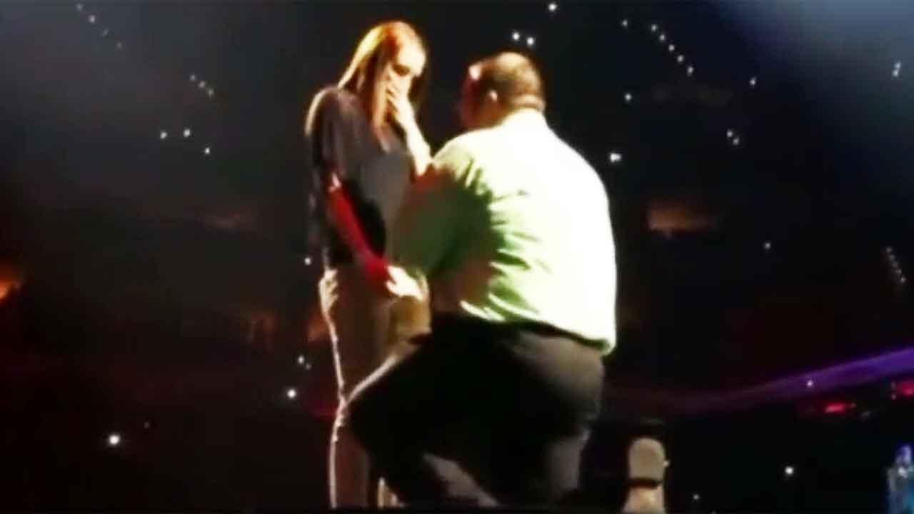 Louisville man gets help from Justin Timberlake to propose