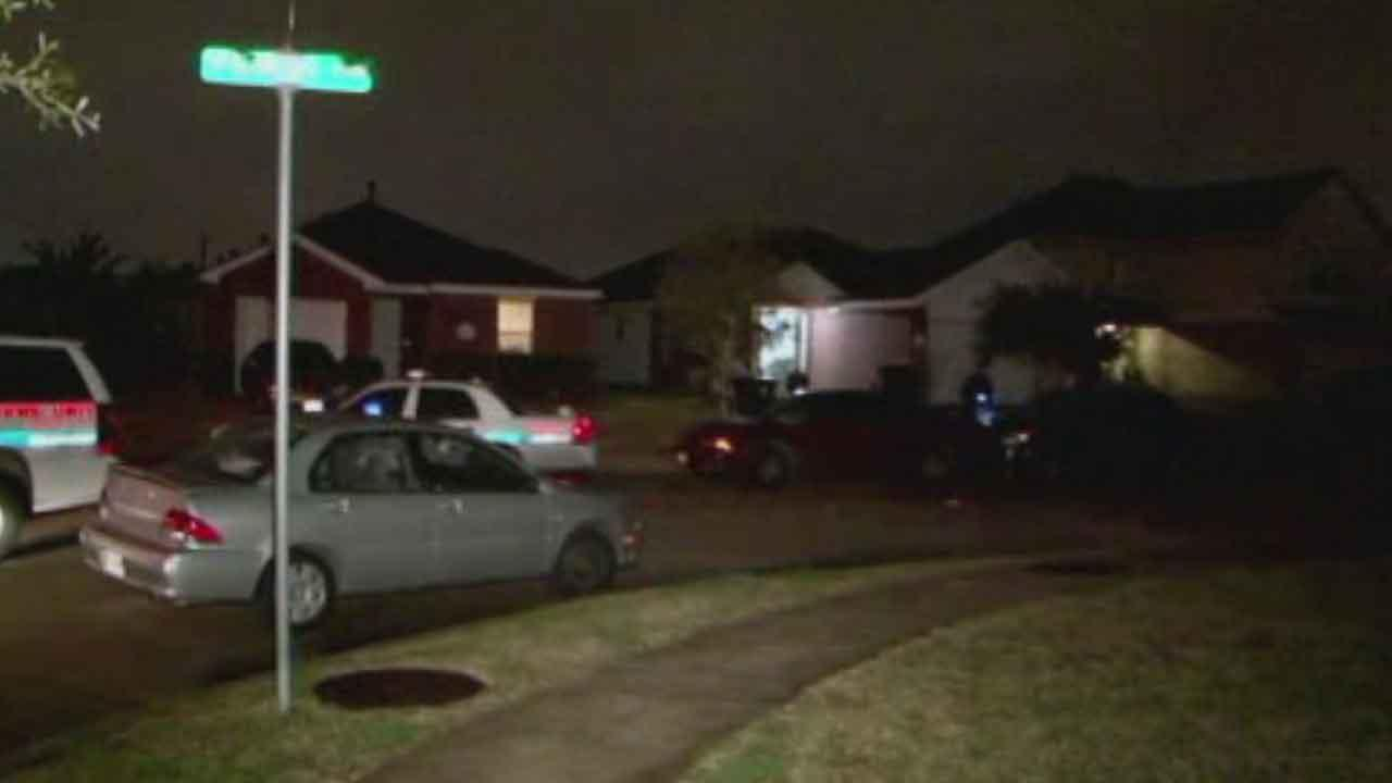 Investigators say a standoff ended with a man arrested and a womans body discovered in a home in southwest Houston