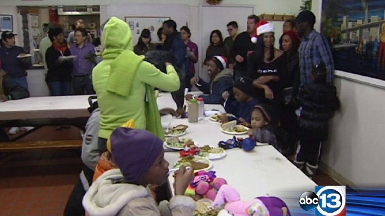 Christmas meals for homeless