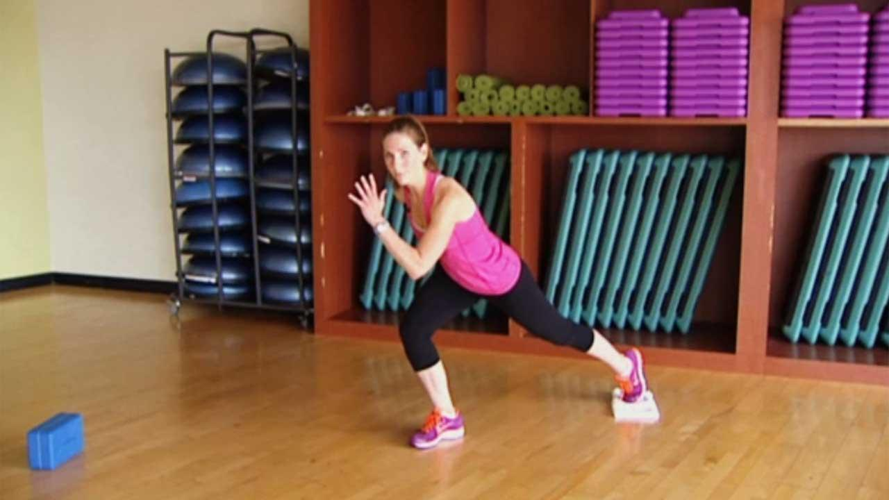 Glute towel workout