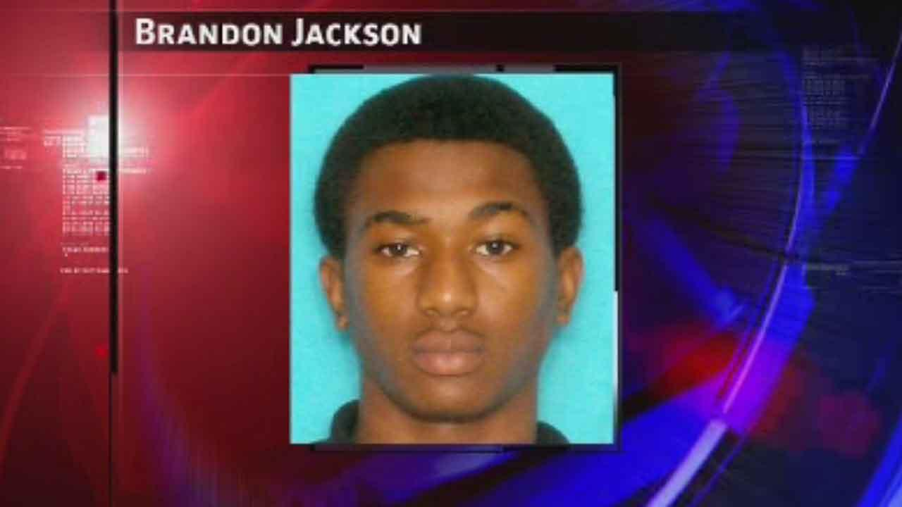 Brandon Jackson, 18, is charged with murder in the shooting death of 37-year-old Ronalee McGuire in northeast Houston