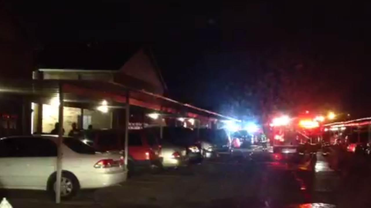 Families displaced following apartment fire in southwest Houston