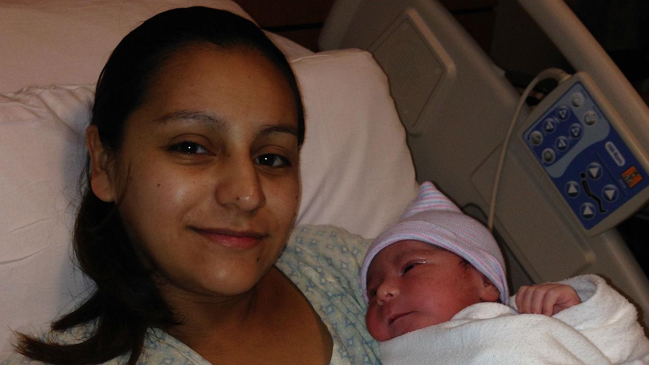 First baby of 2014 in Houston
