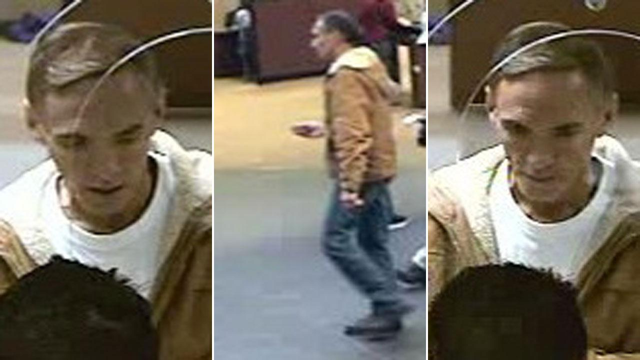 Crime Stoppers is offering up to $5,000 for information leading to the charging and arrest of this bank robber