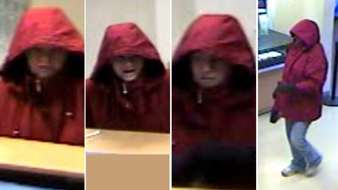 Bank robbery in kingwood
