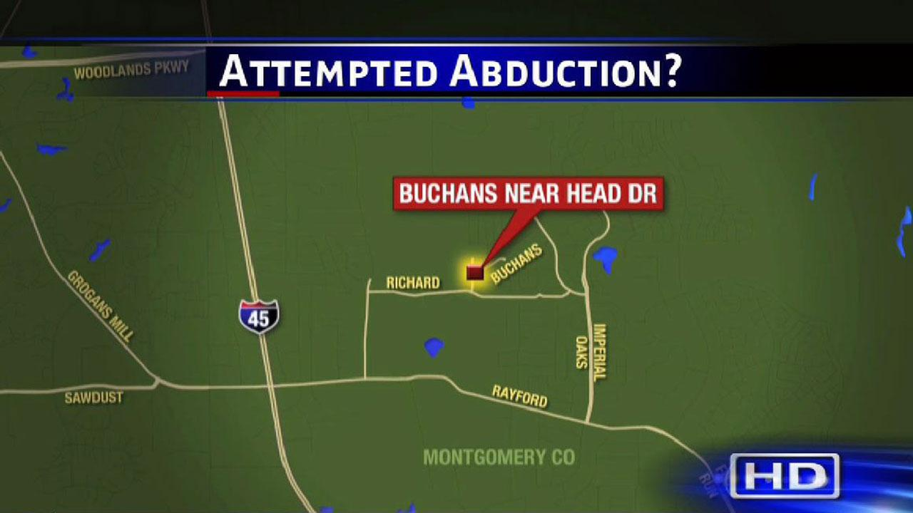Attempted abuction has Spring neighborhood on edge
