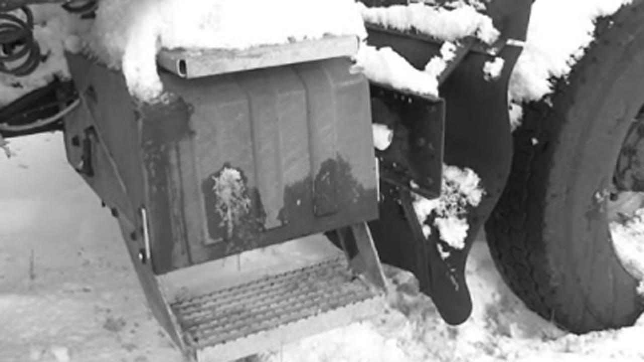 Driver pinned under truck in subzero temps for hours in Indianapolis, rescued