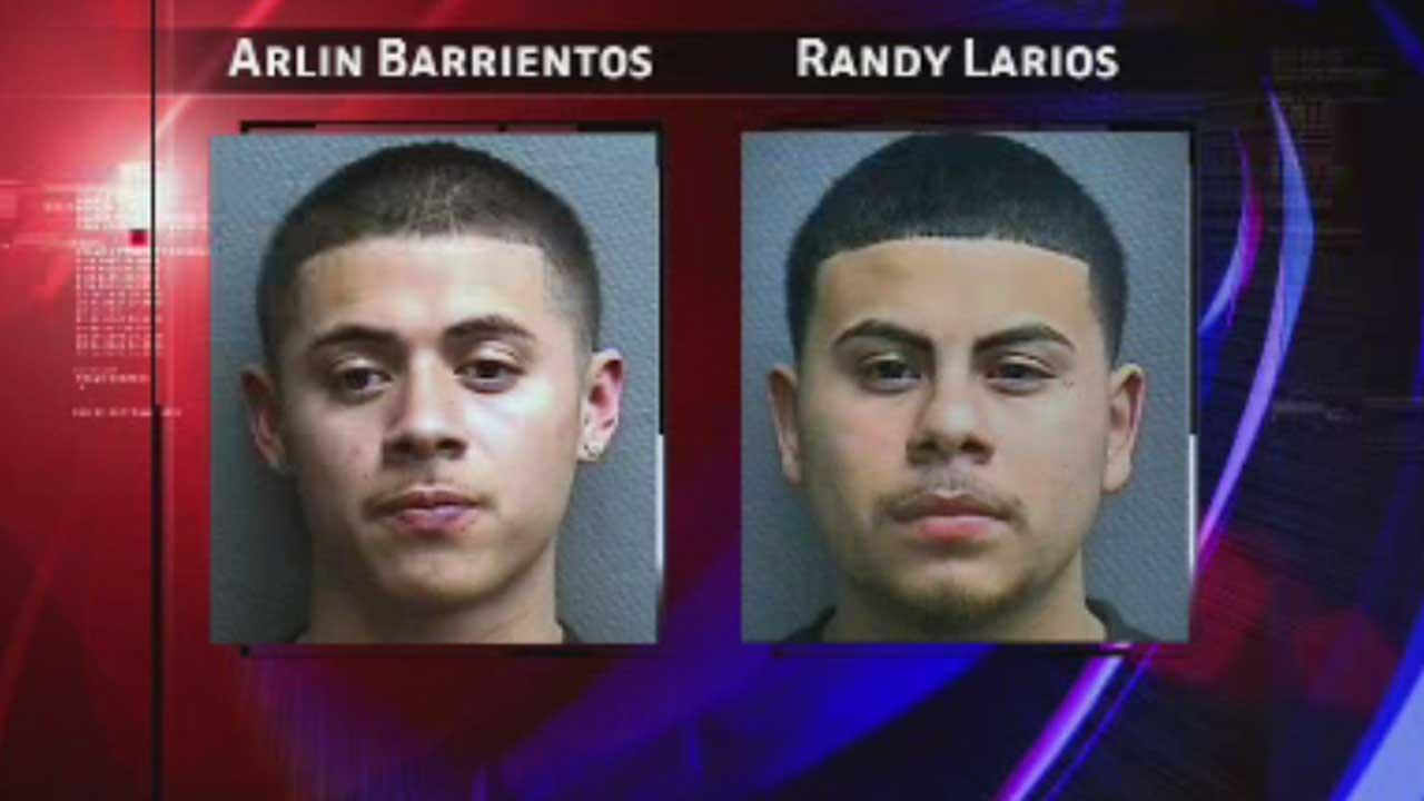 Arlin Barrientos and Randy Larios are each charged with murder