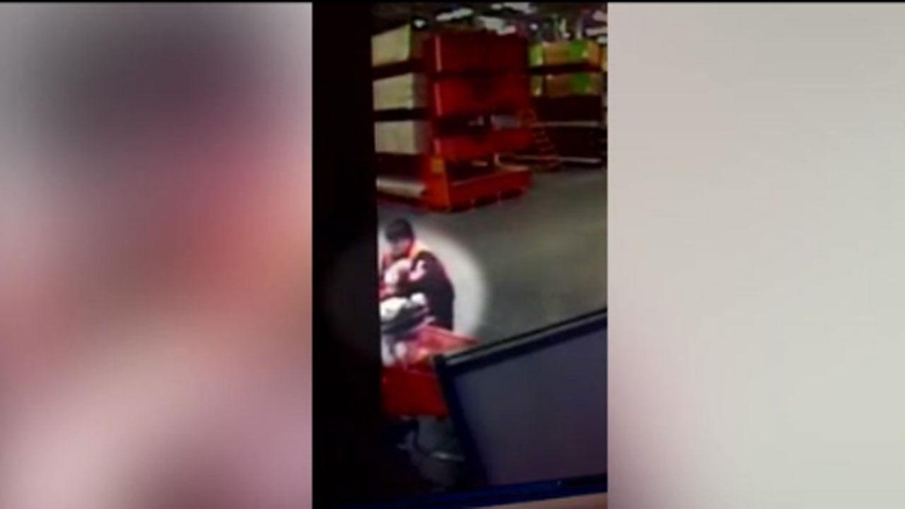 Video of teen catching baby gets scores of viewers