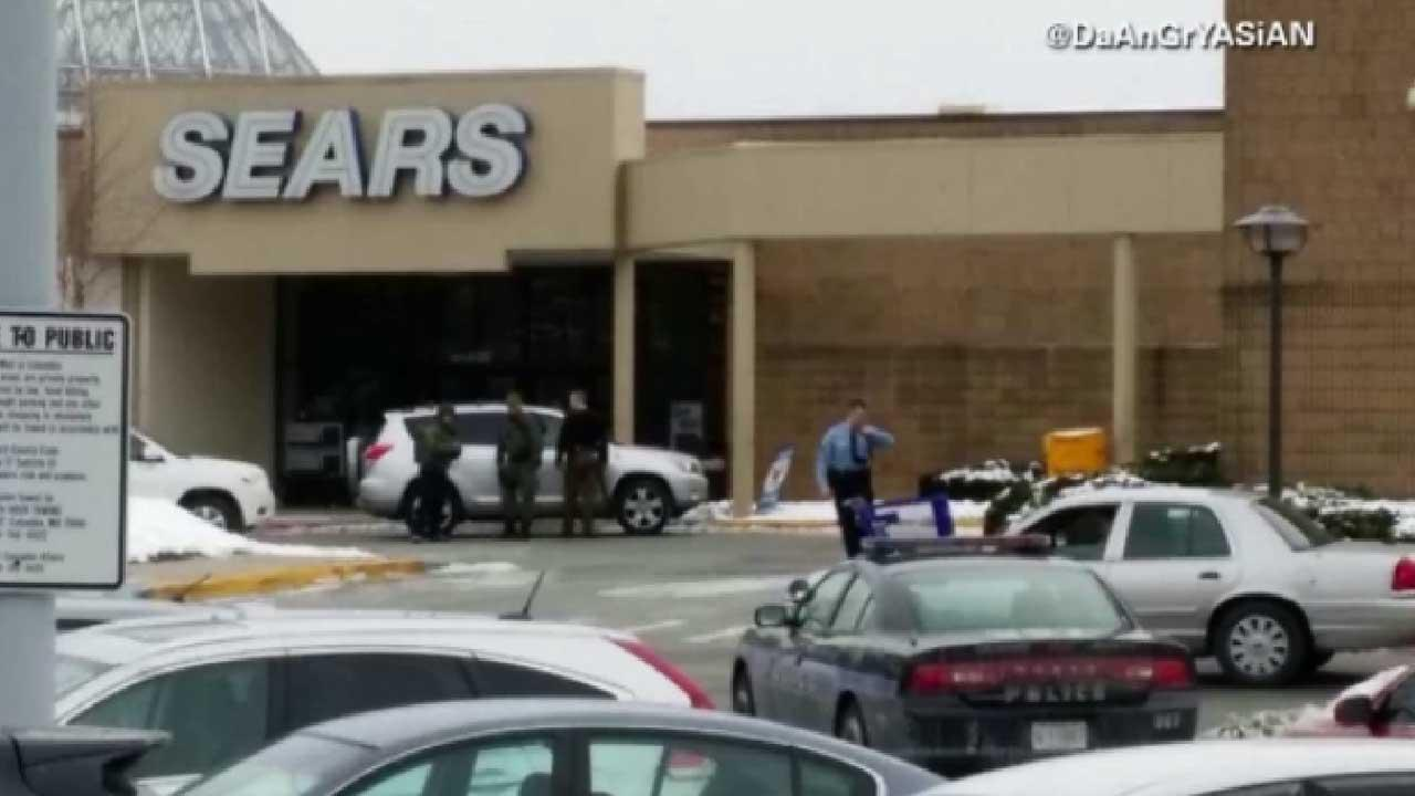 Maryland mall reopens with grief, more security