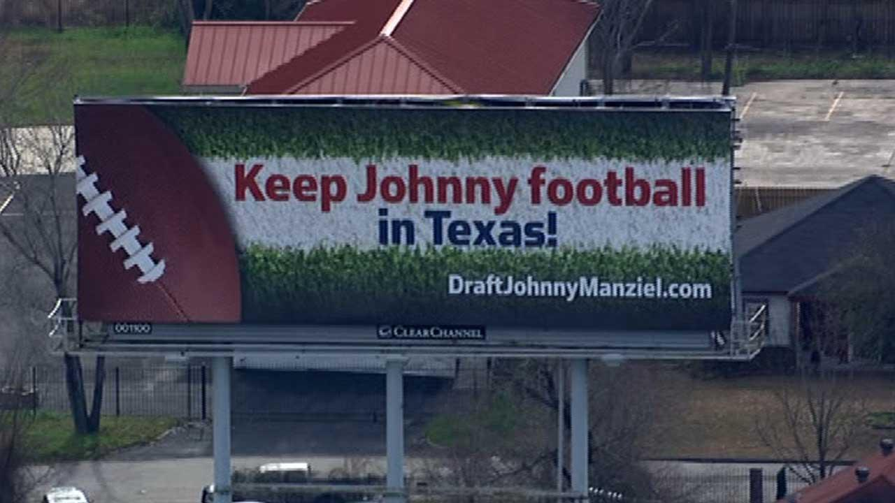 Manziel billboard