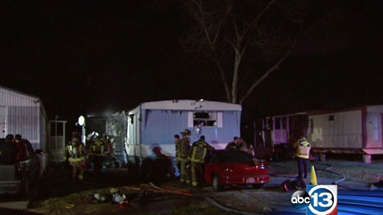Deadly mobile home fire