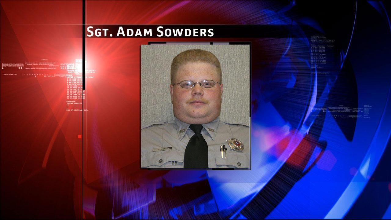 Burleson County Sgt. Adam Sowders