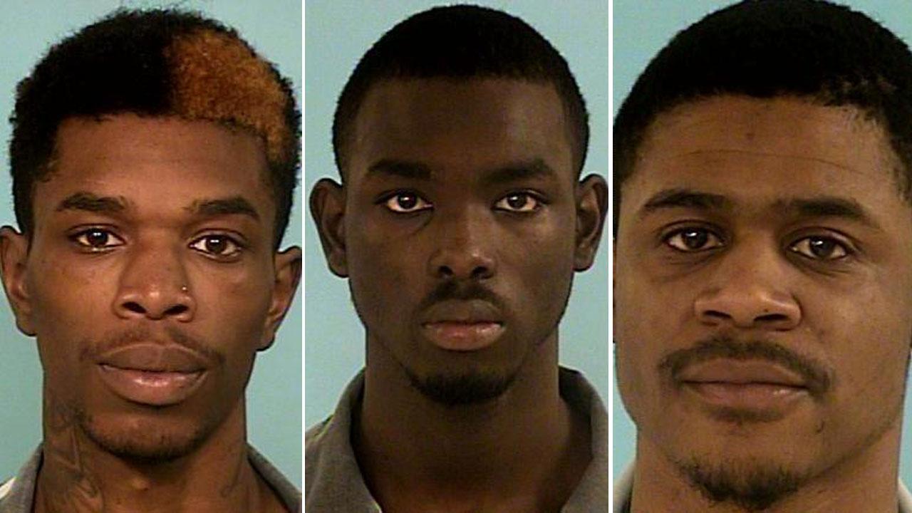 Three suspects in custody