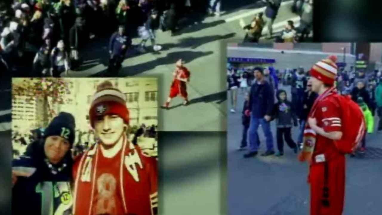 Outpouring of support for homeless 49ers fan who showed up at Seahawks Super Bowl victory parade