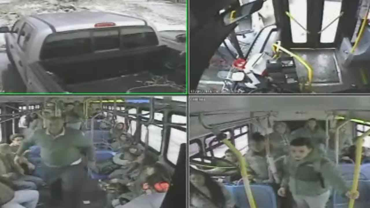 Wisconsin bus driver fired, teen charged after fight is caught on camera