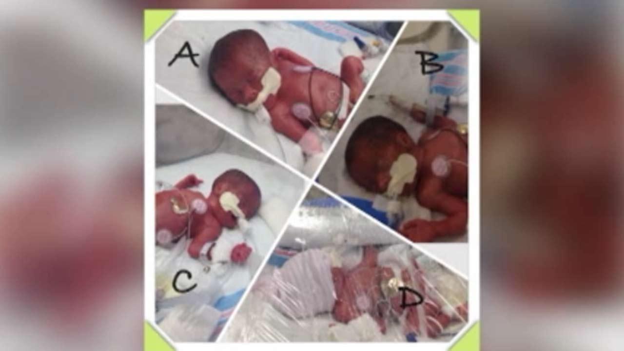 Mississippi mother shocked to give birth to four babies instead of three