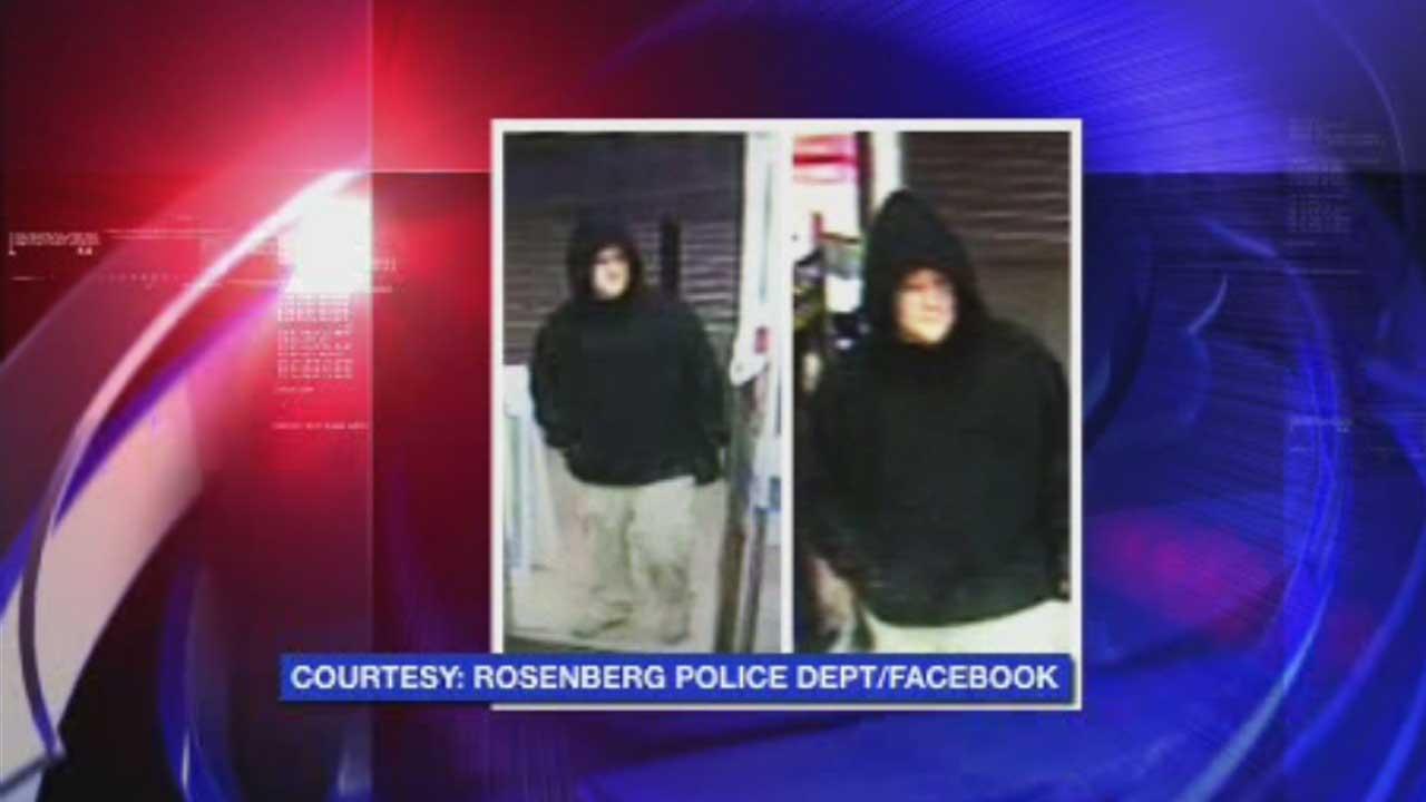 Rosenberg pharmacy robbery suspect
